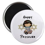 Happy Passover Girl Magnet