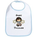 Happy Passover Girl Bib