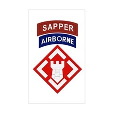 20th Engineer Sapper Decal