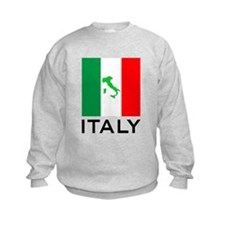 italy flag 01 Sweatshirt