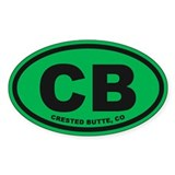 Crested Butte Decal