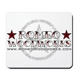 Romeo Woodworks Mousepad