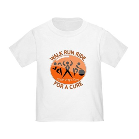Multiple Sclerosis Walk Run Toddler T-Shirt