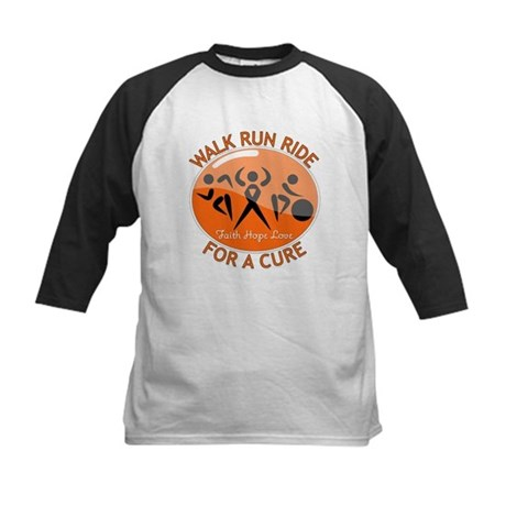 Multiple Sclerosis Walk Run Kids Baseball Jersey