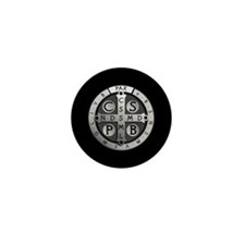 Benedict Medal Mini Button (100 pack)