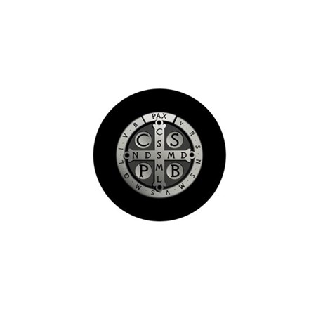 Benedict Medal Mini Button (10 pack)