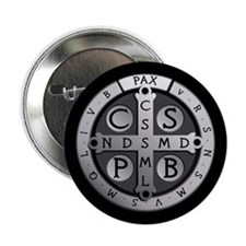 "Benedict Medal 2.25"" Button (10 pack)"