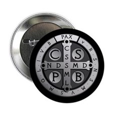 """Benedict Medal 2.25"""" Button"""