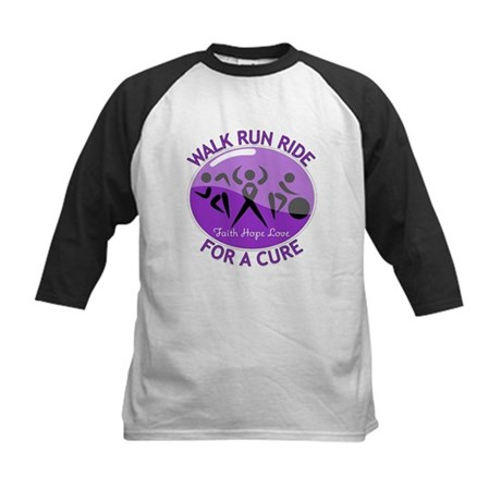 Lupus Walk Run Ride Kids Baseball Jersey