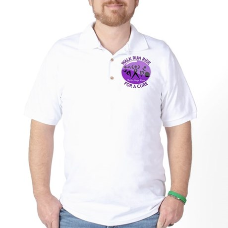 Lupus Walk Run Ride Golf Shirt