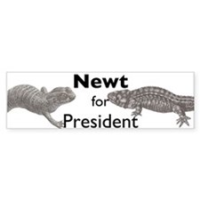 Unique Newt Bumper Sticker