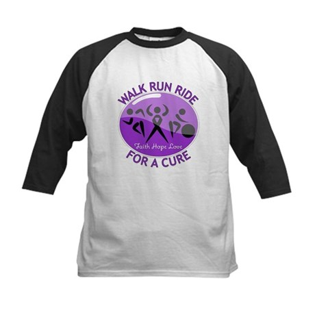 Alzheimers Disease Walk Run Ride Kids Baseball Jer