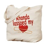 Rhonda Lassoed My Heart Tote Bag