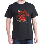 Rhonda Lassoed My Heart Dark T-Shirt
