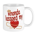 Rhonda Lassoed My Heart Mug