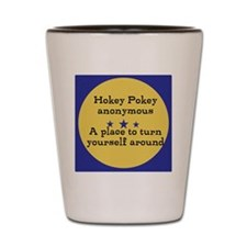 Hokey Pokey Shot Glass