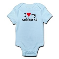 I LOVE MY Saddlebred Infant Bodysuit