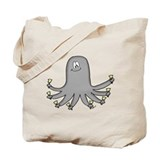 Octopus Handbells Tote Bag