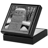 Snow Statue Keepsake Box