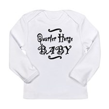 Quarter Horse BABY Long Sleeve Infant T-Shirt