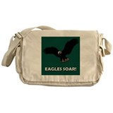 Eagles Soar! Green Messenger Bag