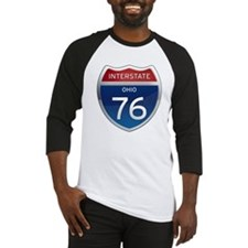Interstate 76 - Ohio Baseball Jersey