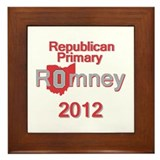 Romney OHIO Framed Tile