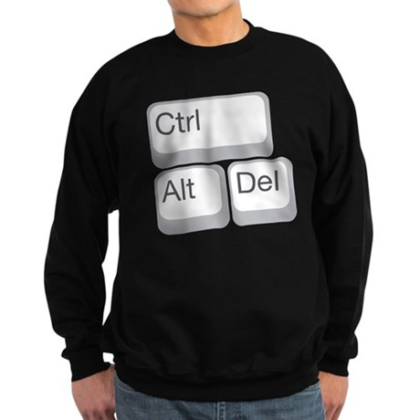 cntrl alt delete Sweatshirt (dark)