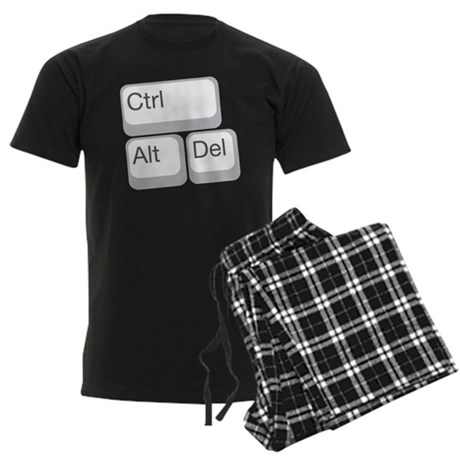 cntrl alt delete Men's Dark Pajamas