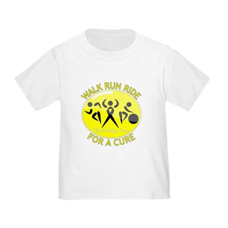 Sarcoma Cancer Walk Run Ride Toddler T-Shirt