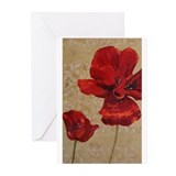Red Poppy Art II Greeting Cards (Pk of 20)