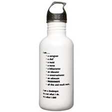 I am a Zookeeper Water Bottle