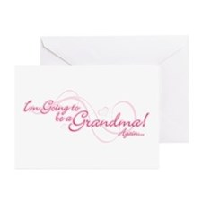 Going To Be A Grandma Again Greeting Cards (Pk of