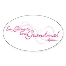 Going To Be A Grandma Again Decal