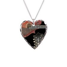 Cute Mandolin Necklace