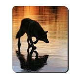 Kailani Sunset Wolf Mousepad