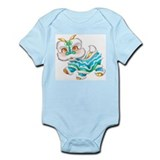 Chinese New Year Baby Dragon  Baby Onesie