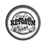 Ketchum Old Circle Wall Clock