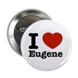 "I love Eugene 2.25"" Button"