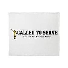 New York New York South LDS M Throw Blanket