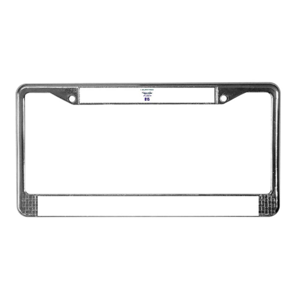 FLIGHT 815 License Plate Frame for
