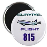 "FLIGHT 815 2.25"" Magnet (100 pack)"