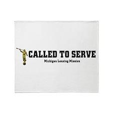 Michigan Lansing LDS Mission Throw Blanket