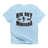 Big Sky Black & Silver Infant T-Shirt