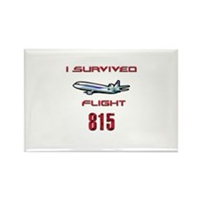 FLIGHT 815 OCEANIC AIR Rectangle Magnet