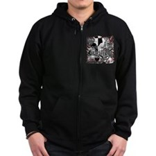 Must Have Twilight Collage by Twibaby Zip Hoodie