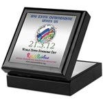 World Down Syndrome Day 2012 Keepsake Box