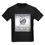 World Down Syndrome Day 2012 Kids Dark T-Shirt