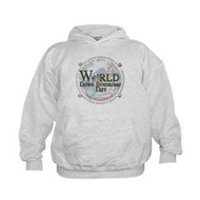 World Down Syndrome Day 2012 Kids Hoodie
