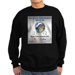 World Down Syndrome Day 2012 Sweatshirt (dark)